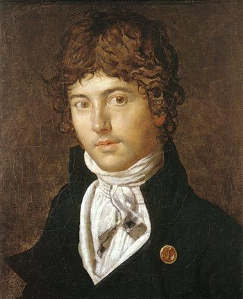Pierre Francois Bernier 1800 By Jean Auguste Dominique Ingres