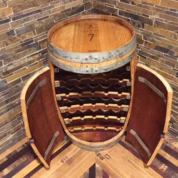 wine barrel rack ebay plans furniture