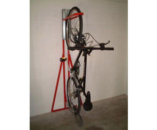 Free Standing Bikeaway Upright Bike Stand Vertical Bike Rack