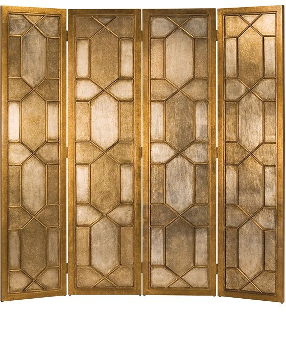 Folding Screens Decorative Folding Screen With Gold And