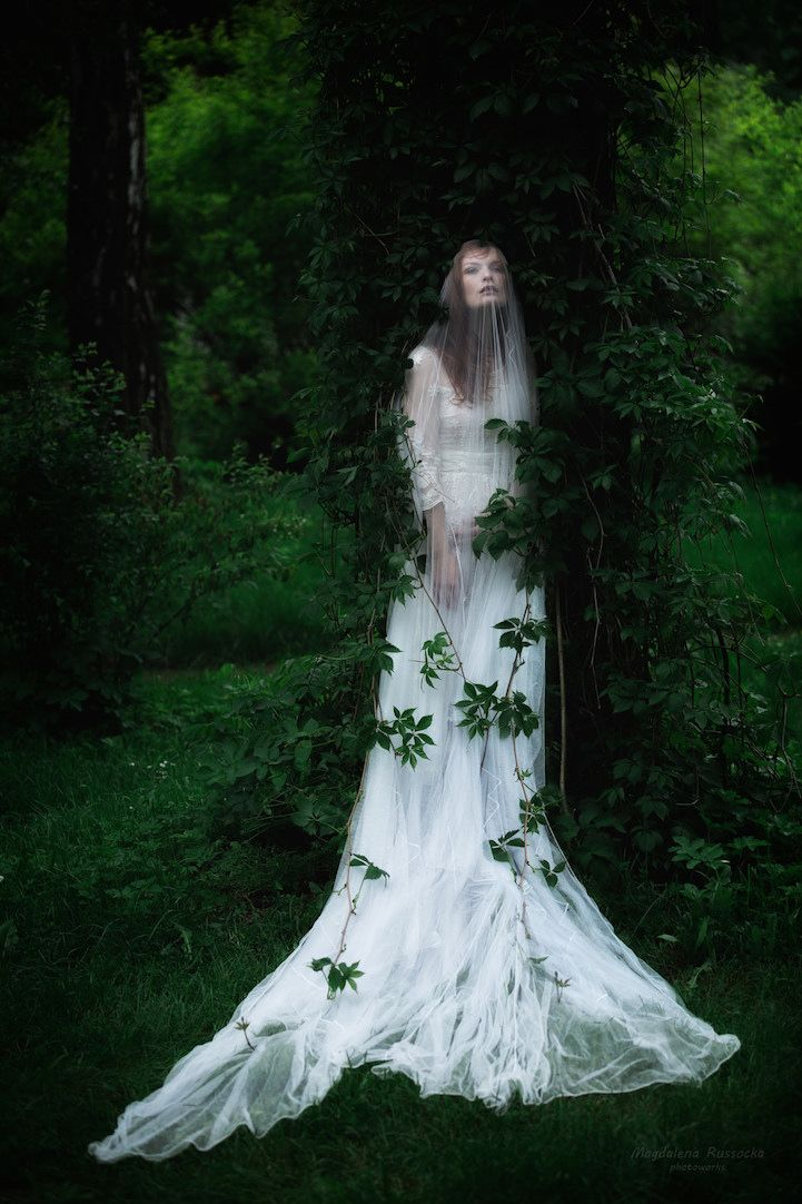 Fairytale-inspired portraits by Magdalena Russocka explore enchanting worlds of #magic and adventure. #photography
