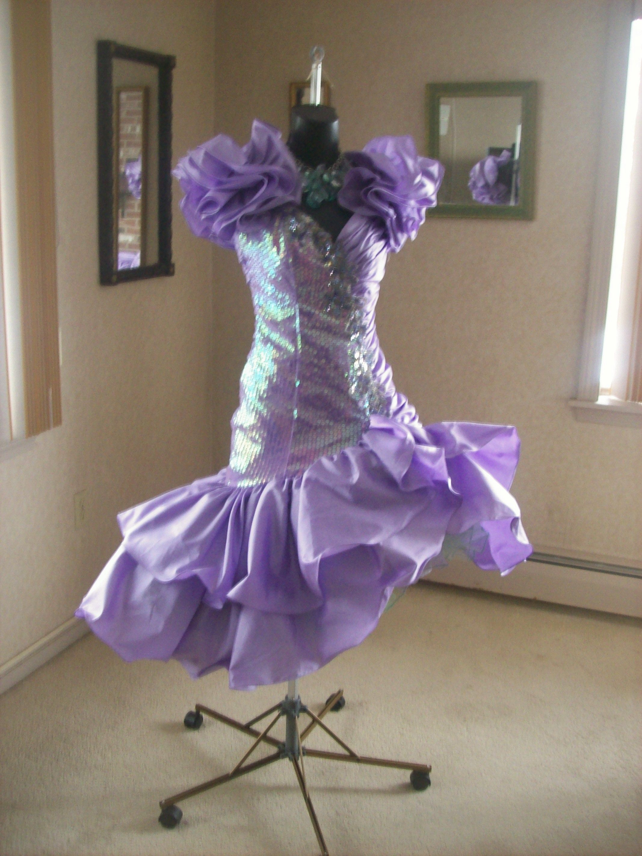 VINTAGE 80s PROM PARTY DRESS WILD CHILD BEST IN SHOW AVAILABLE NOW ...