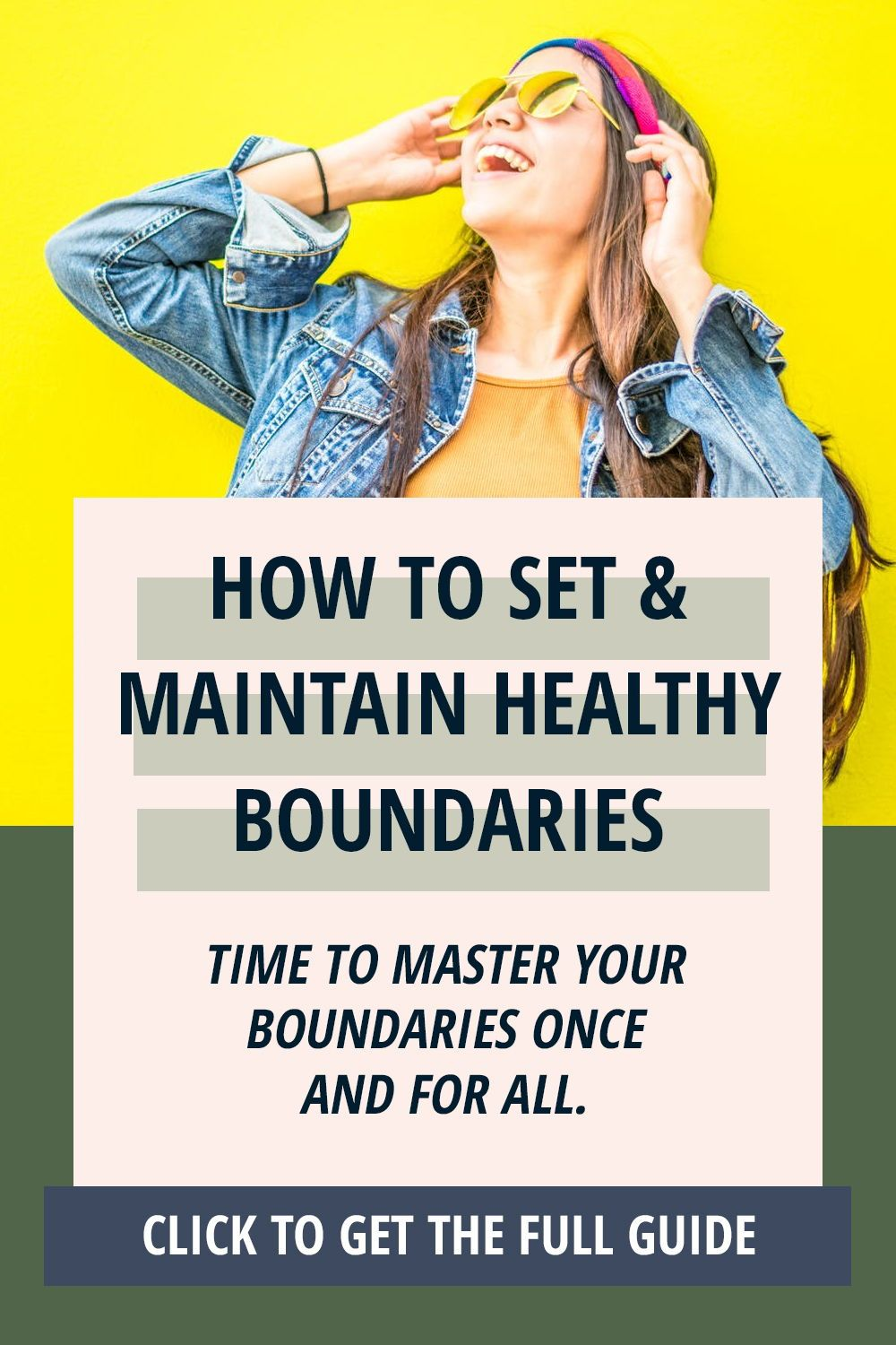 Want To Love Your Life Start By Setting Boundaries This Blueprint And Free Printable And Workshe Healthy Boundaries Setting Healthy Boundaries Health Blogger