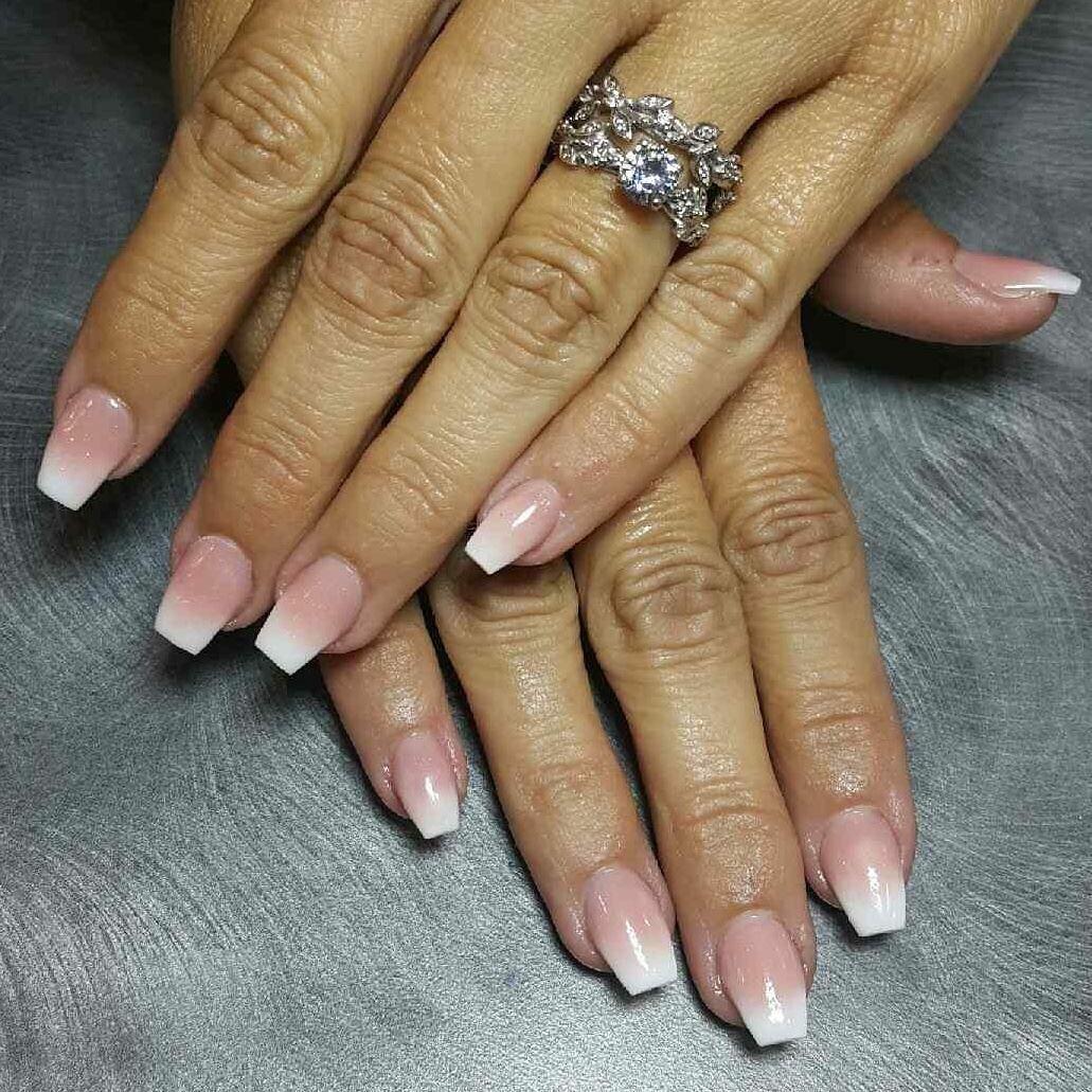 SNS ombré nails at Sobe Nails | Sns nails colors, Sns ...