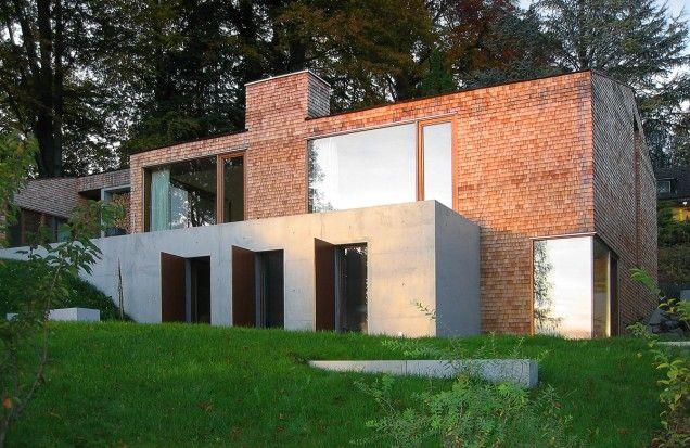 Haus K St Quirin Tegernsee Betonhaus Architektur Haus Haus Architektur