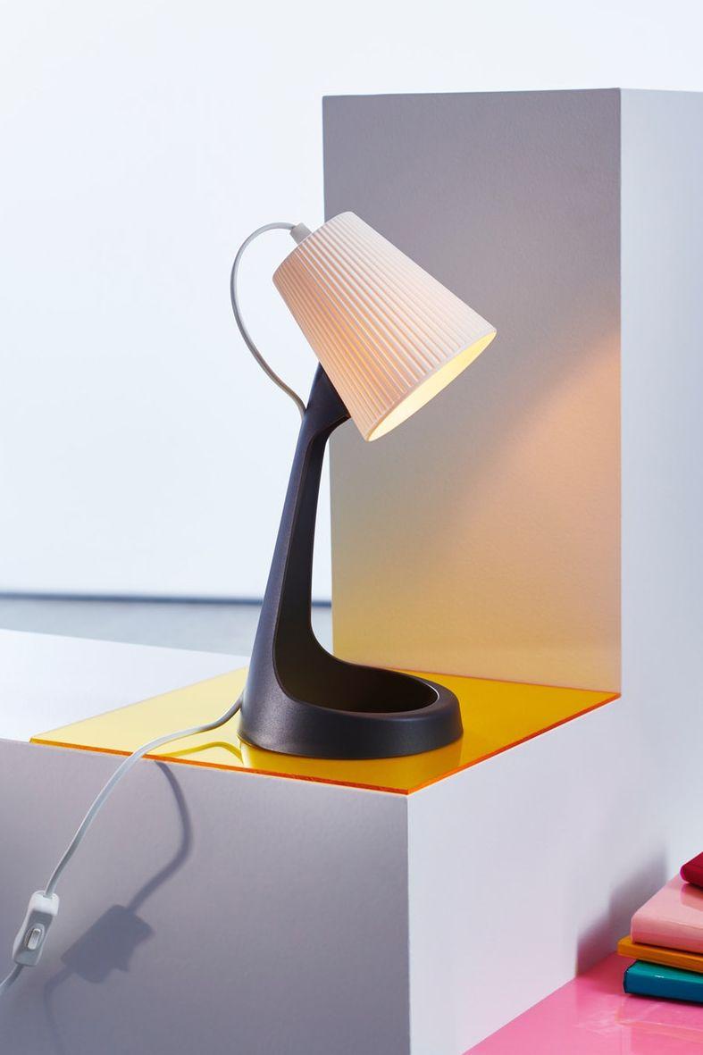 Svallet Arbeitsleuchte Dunkelgrau Weiss Ikea Deutschland Lampe Led Lampe Arbeitsleuchte