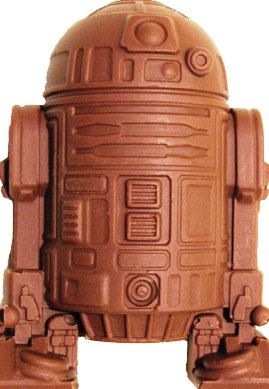 Star Wars R2D2  Filled Chocolates  (Large)  6 pcs.. $13.50, via Etsy.