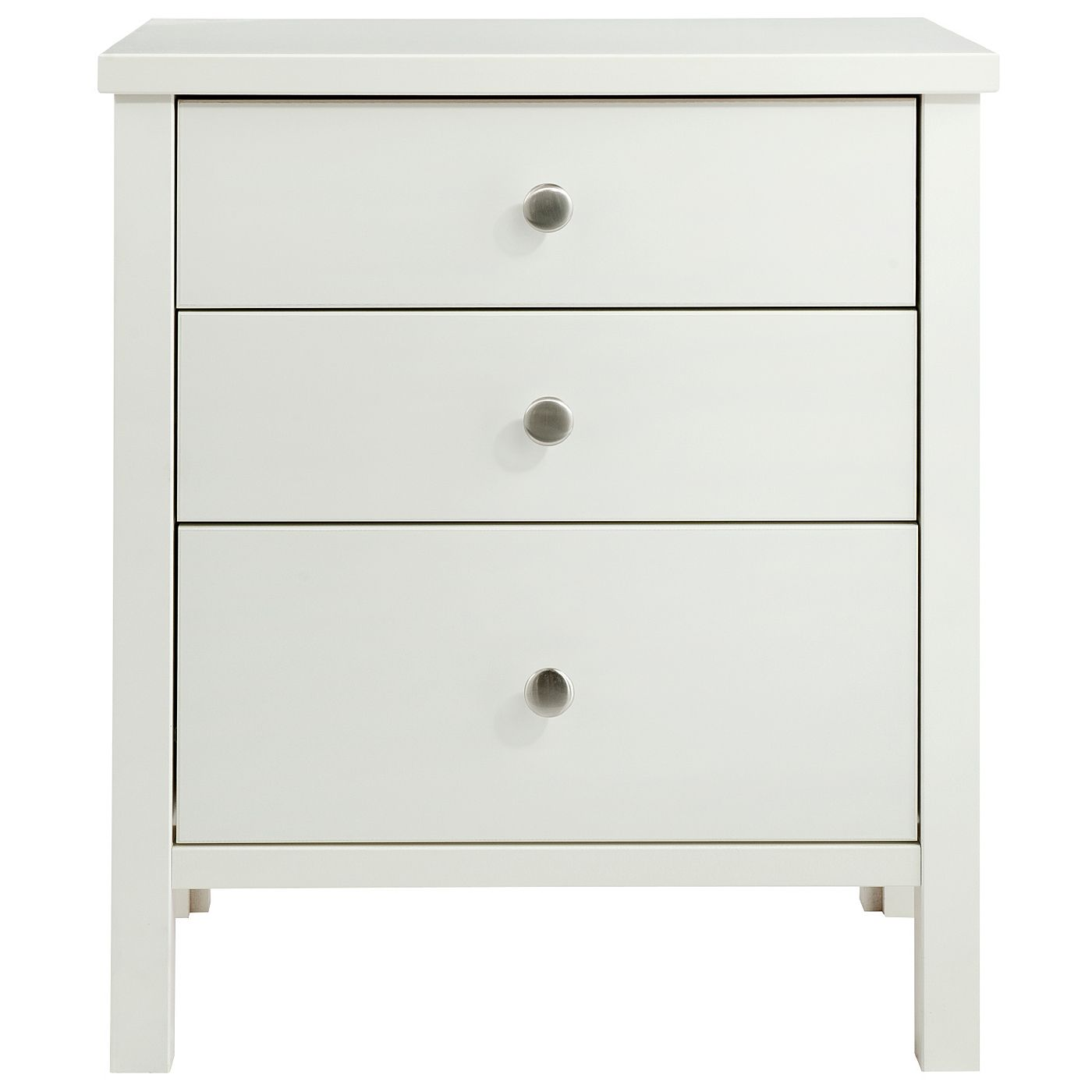 Best Baltic White Three Drawer Bedside Cabinet Bedside Tables 400 x 300