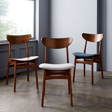 Classic Cafe Dining Chair - Individual, Weave, Nightshade ...