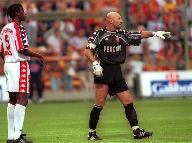 Philippe Christanval et Fabien Barthez (AS Monaco)