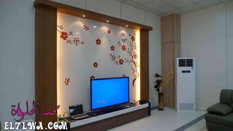 ديكورات جبس جدران 2021 هي ديكورات متميزة للغاية من أجل مواكبة آخر تطورات الديكور الحديث لذلك سوف نتناول سوي ا مع Gypsum Wall Wall Tv Unit Design Tv Wall Decor