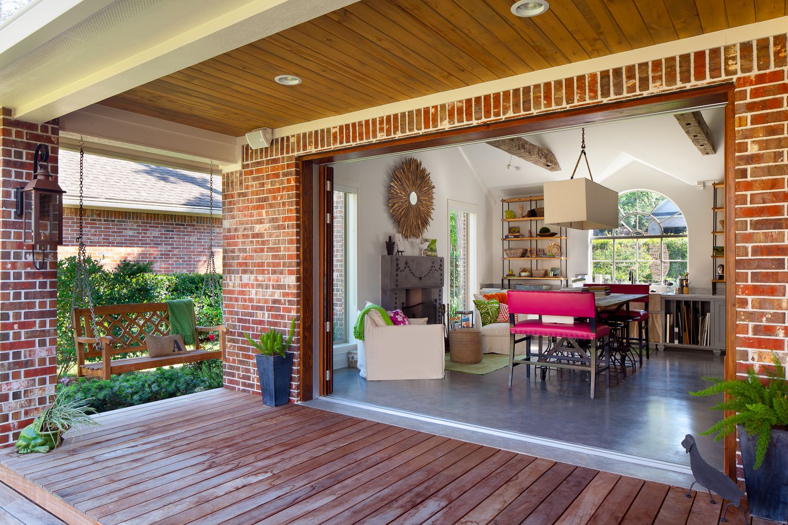 Sliding French Doors Exterior | andreatung | Outdoor Spaces ...