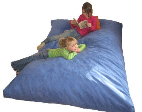 The Twin Hug Bed Lounger 39x75 Pillow Bean Bag Bed Hunter