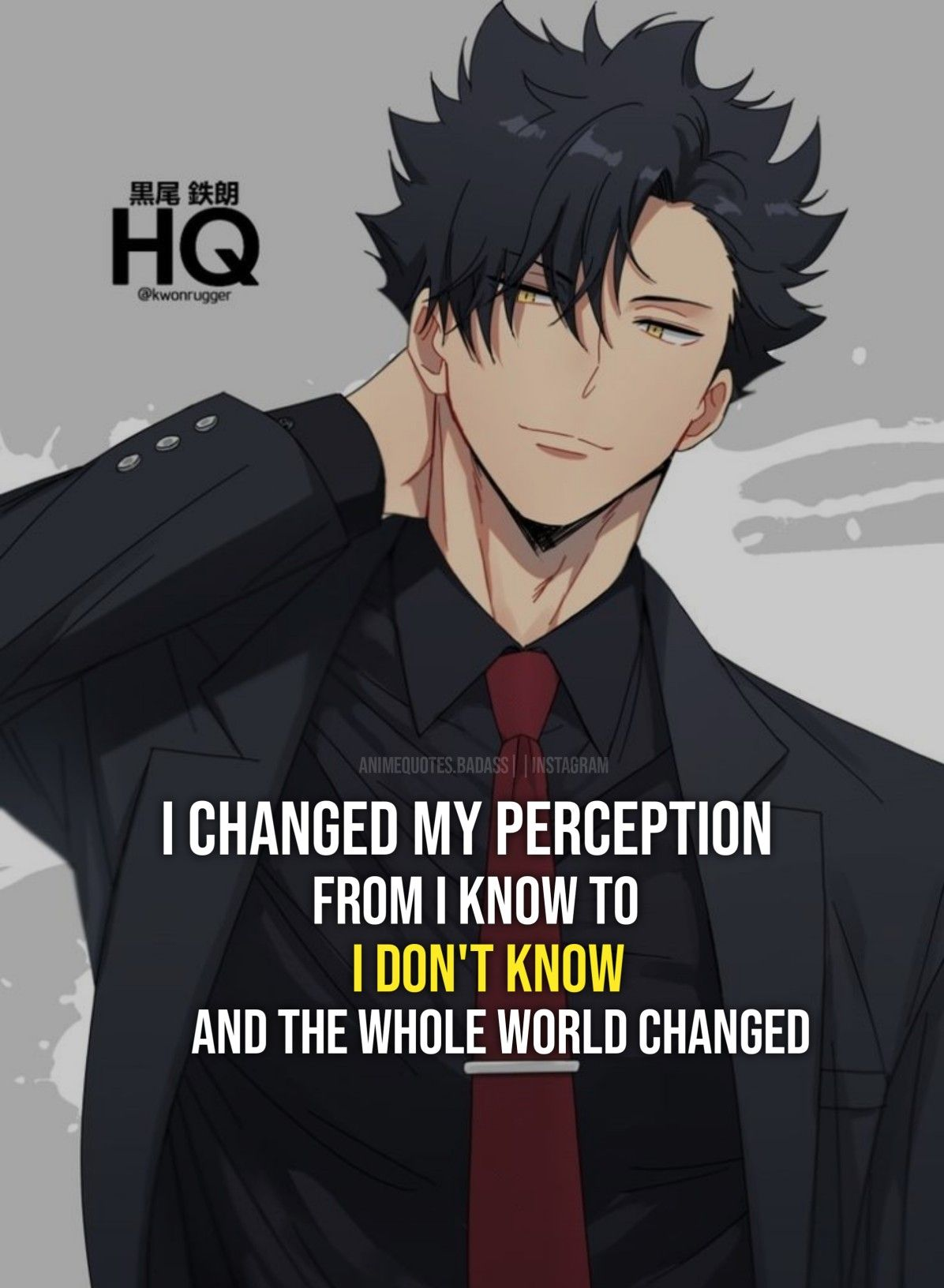 Anime Haikyuu in 2020 Anime love quotes, Anime quotes