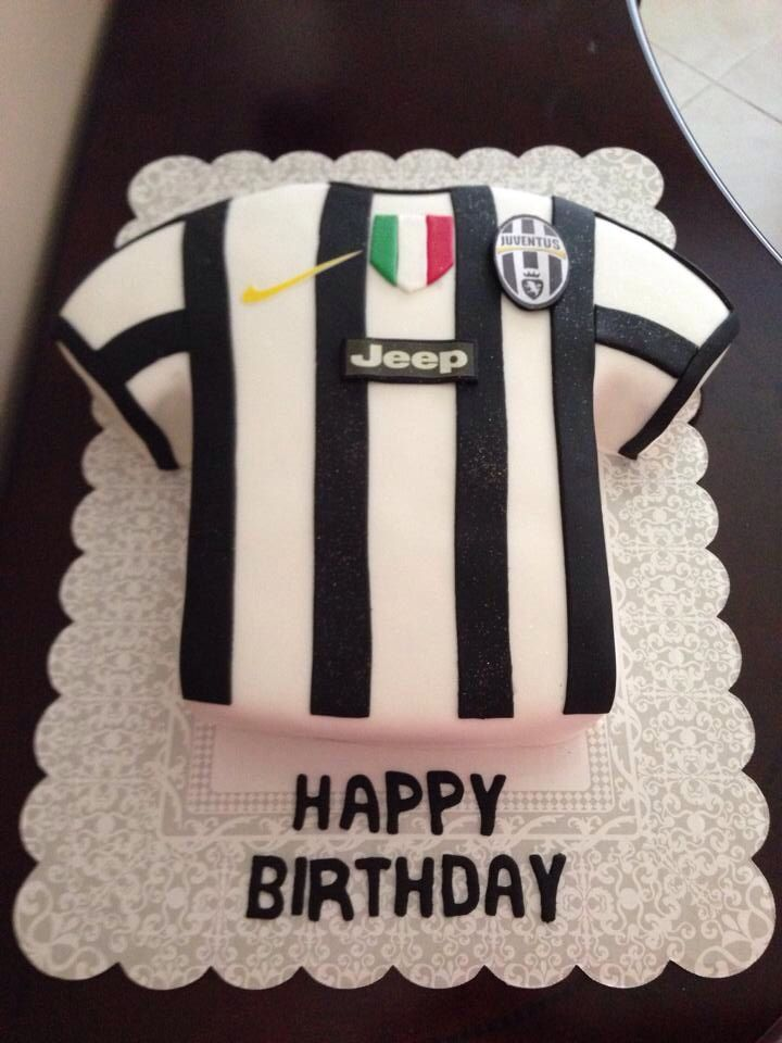 decoration gateau juventus