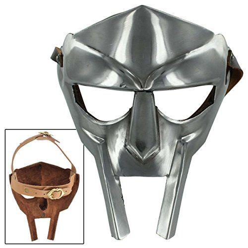 Rapper Mf Doom Madvillain Gladiator Costume Mask 18g Armo Https Smile Amazon Com Dp B014q3h0ea Ref Cm Sw R Pi Dp X Bwb3xbhd Mf Doom Gladiator Mf Doom Mask