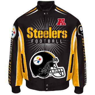 3f80b1af Pittsburgh Steelers G-III Sports Burst Cotton Twill Jacket. Order Your's  Today From. >>>> bjsportstore.com