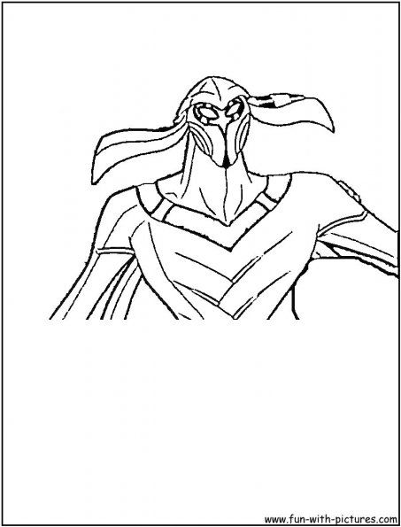 Ben10 Alien Benmummy Cartoon Network Coloring Pages Coloring