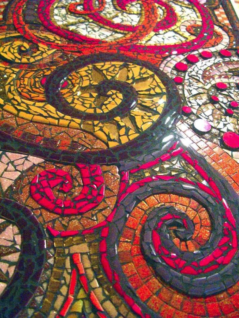 Free Mosaic Patterns June Schedule 2009 Mosaic
