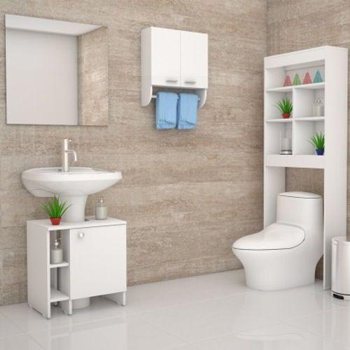 almacenamiento-para-bano-pequeno | para baño | Pinterest | Baño ...