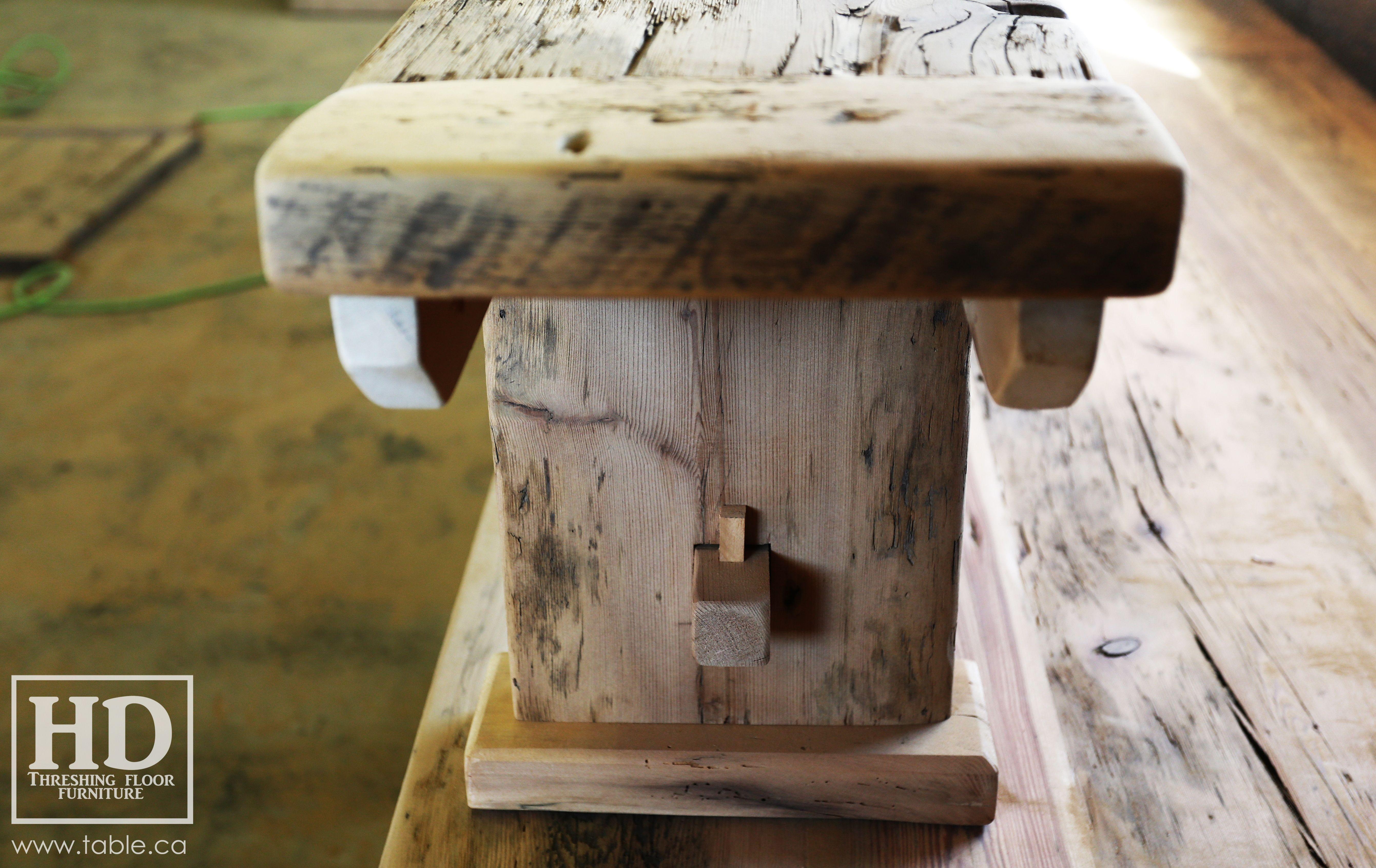 Ontario Reclaimed Wood Mennonite Furniture By Hd Threshing Floor