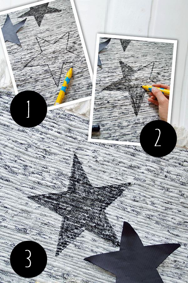 Teppich bemalen DIY | DIY-Dekoration ➳ | Pinterest | Teppiche ...