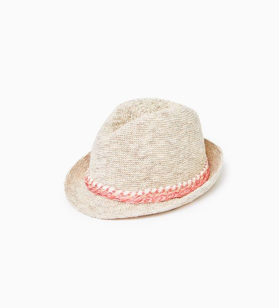 Image 1 Of Woven Band Hat From Zara Hat Band Girl With Hat Girls Accessories