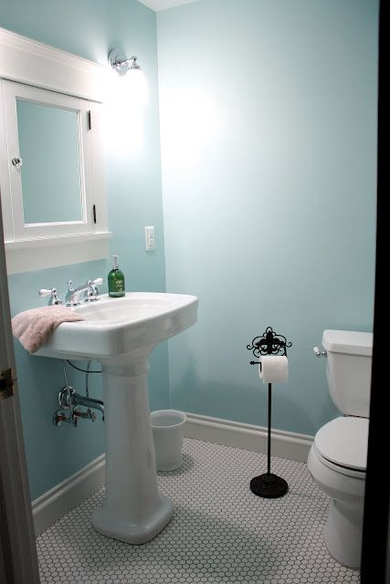 Sherwin Williams Open Air 6491 Laundry Http Homeforthebetter Blogspot Com 2011 10 Childrens Bathroom Aft Childrens Bathroom Family Room Paint Blue Bathroom