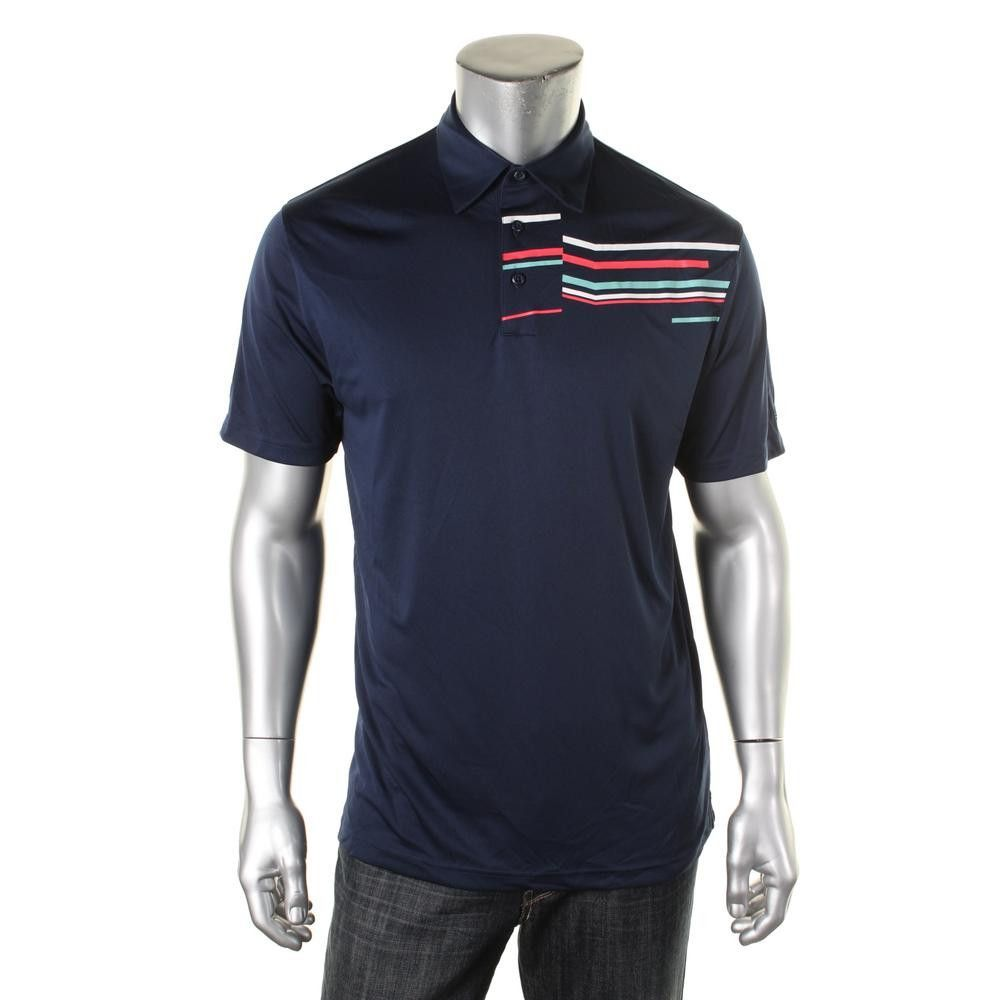Under Armour Mens Striped Loose Fit Polo Shirt Products