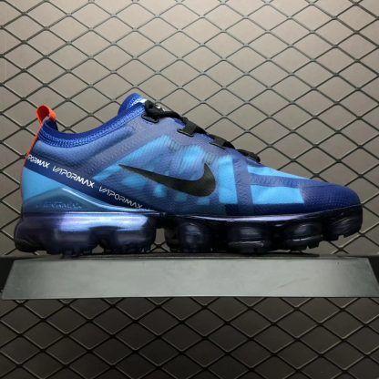 a70fce224c96 Nike Air VaporMax 2019 Blue AR6631-400 Running Shoes in 2019