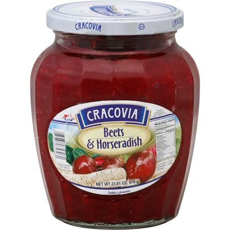 Cracovia Beets Horseradish 23 61 Oz Pack Of 12 Walmart Com Horseradish Beets Food