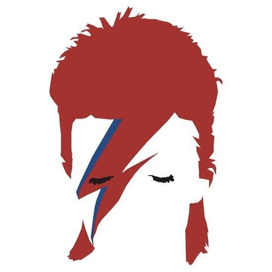 David bowie sticker ebay