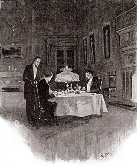 The Hound Of The Baskervilles Chapter Vi Baskerville Hall Sidney Prepossessing The Strand Dining Rooms Design Decoration