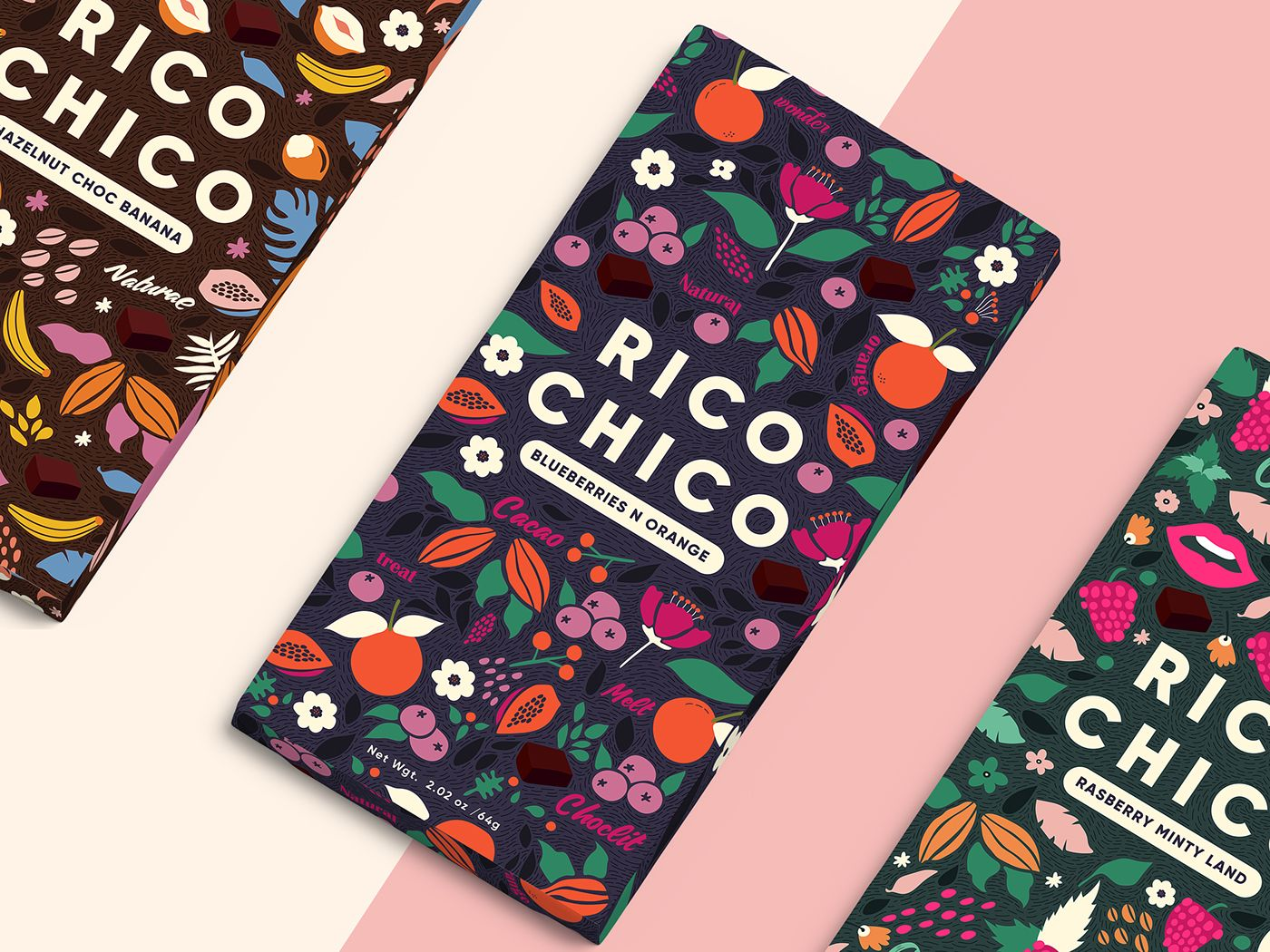 Rico Chico  A Chocolit Land is part of Packaging design - Packaging of the World is a package design inspiration archive showcasing the best, most interesting and creative work worldwide