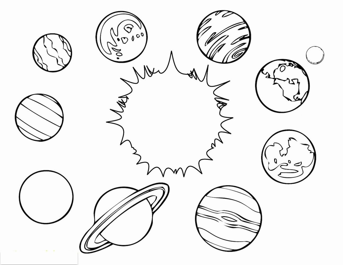 Outer Space Coloring Page Beautiful Outer Space Coloring
