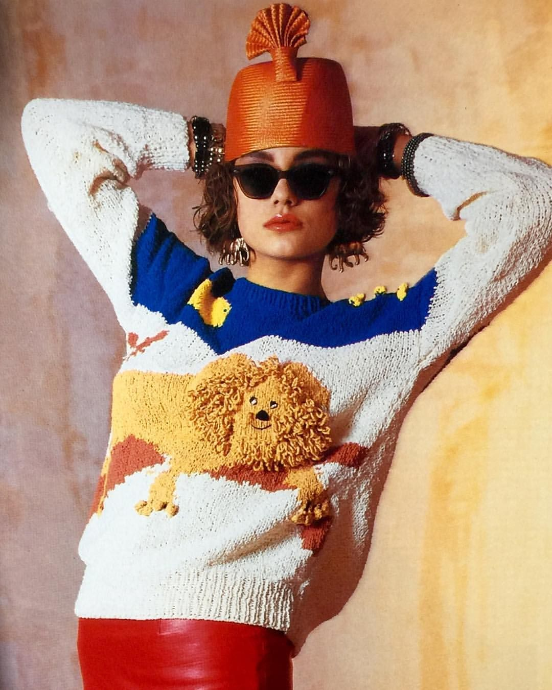 "from ""cat knits"", 1988."