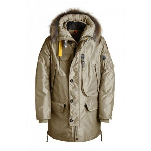 Verkoop Heren Parajumpers Parka Online Cappuccino Kodiak Long TU60S5, Parajumpers Kodiak Sale Outlet