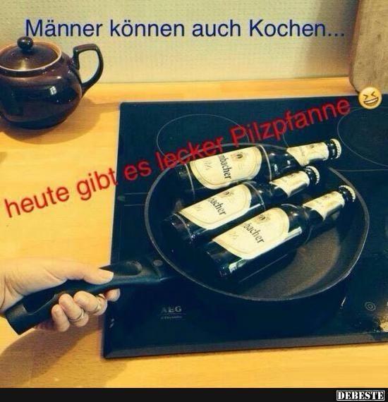 Manner Kochen Lustig Witzig Spruche Manner Lustig Pinterest