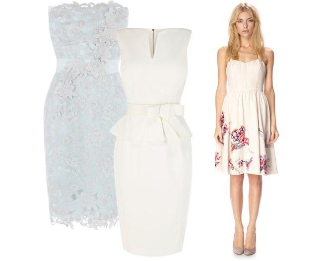 Wedding Fashion - Best day after wedding dresses L-R Karen Millen ...