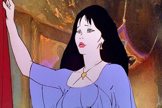 Princess Teegra from Fire & Ice 1983 | Fire & Ice 1983 in ...