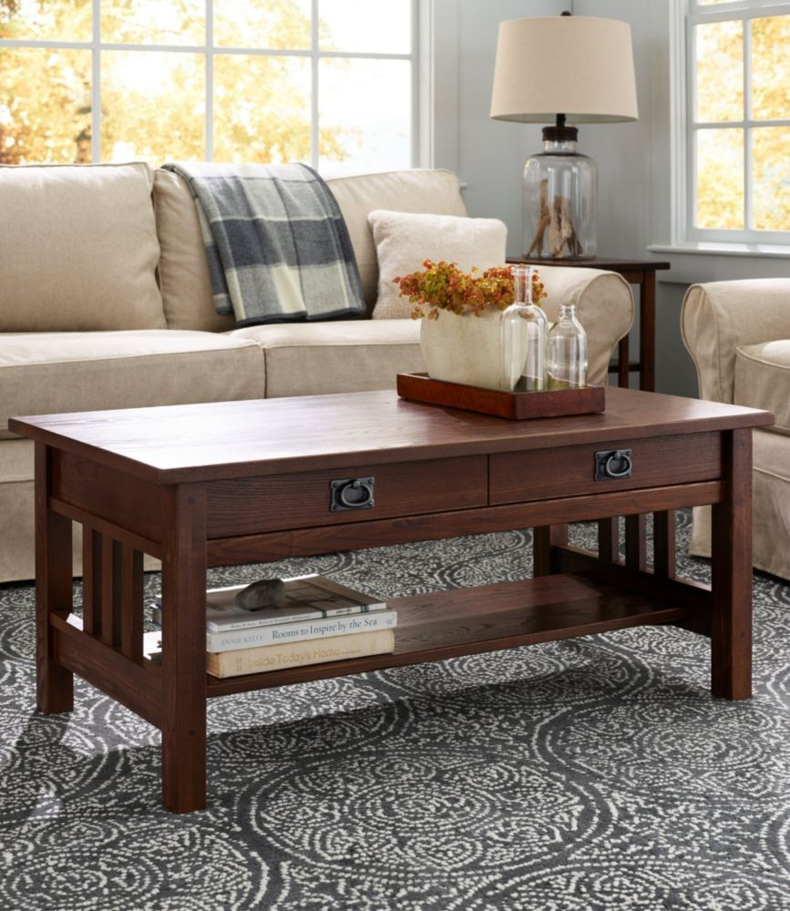 American Mission Coffee Table Coffee Table Furniture Living Room Table Sets [ 1000 x 867 Pixel ]
