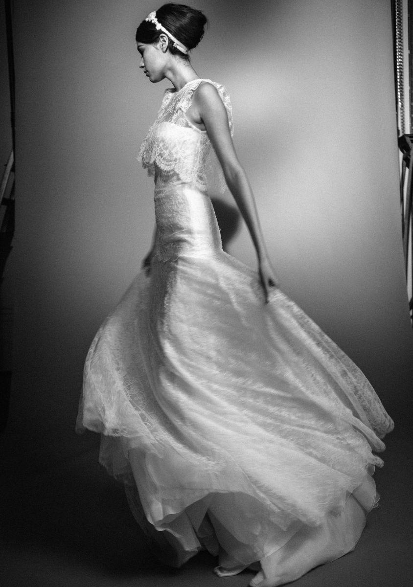 Celestina agostino designer wedding dresses in london couture