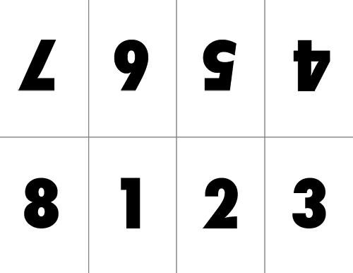 layout for mini zine