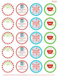 peppermint please free printable christmas labels candy labels