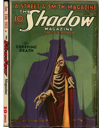 The Shadow January 15th, 1933 by matthewkirscht, via Flickr