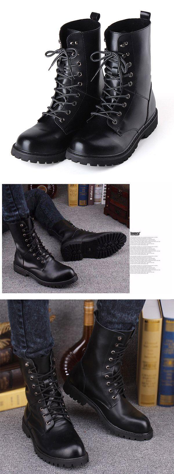 Mid Calf Work Boots   Mens boots