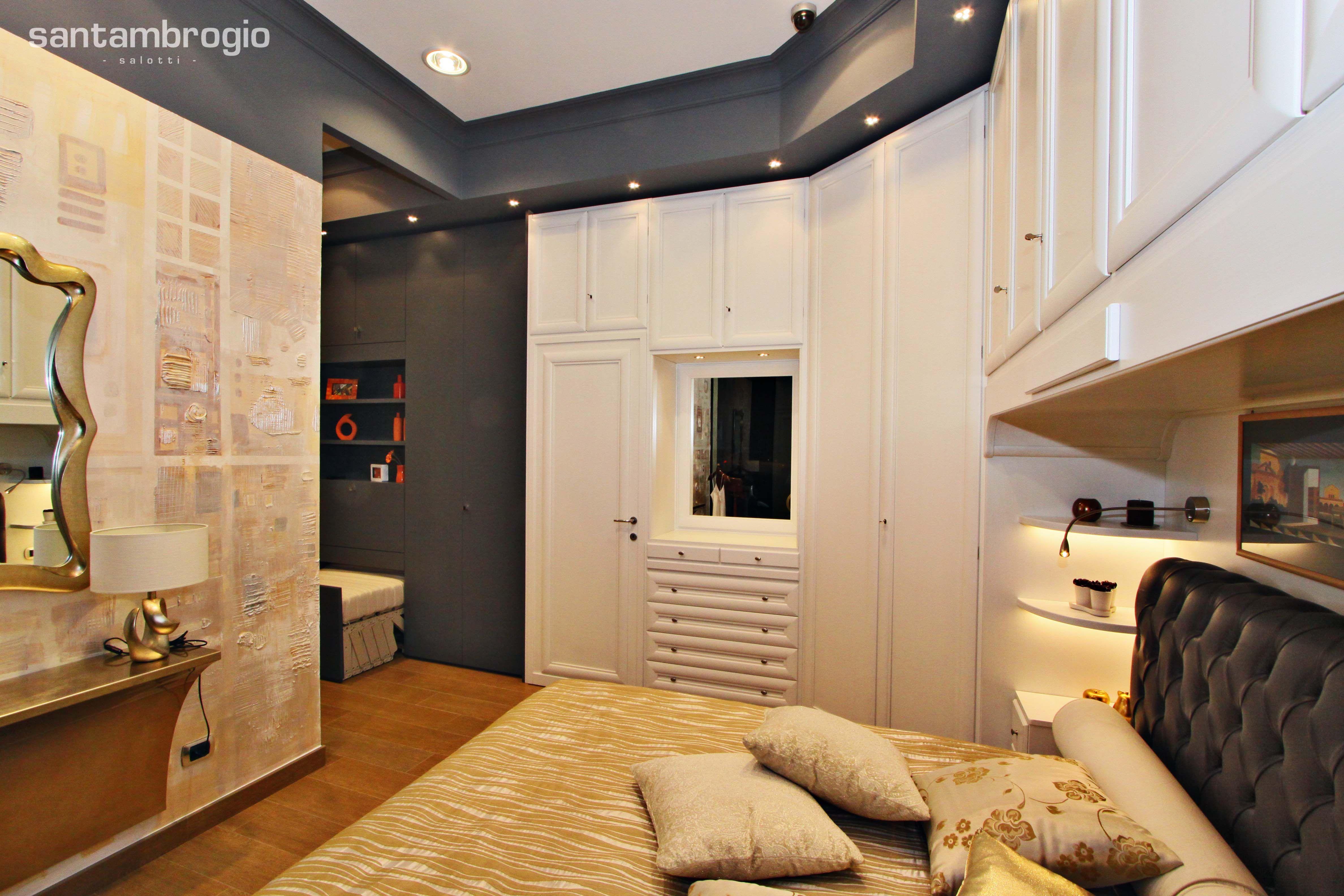 Camera da #letto - particolari | Show room Santambrogio Salotti a ...