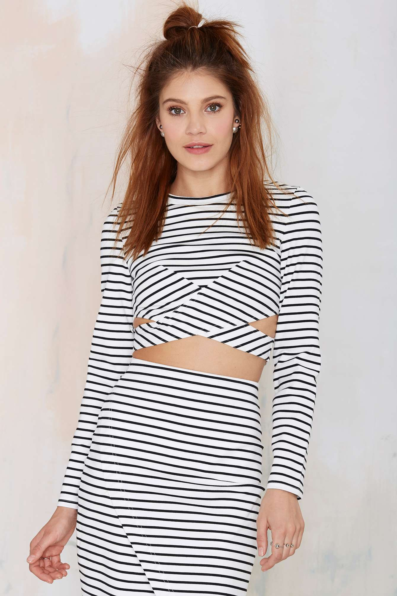 The Fifth Roadhouse Striped Skirt