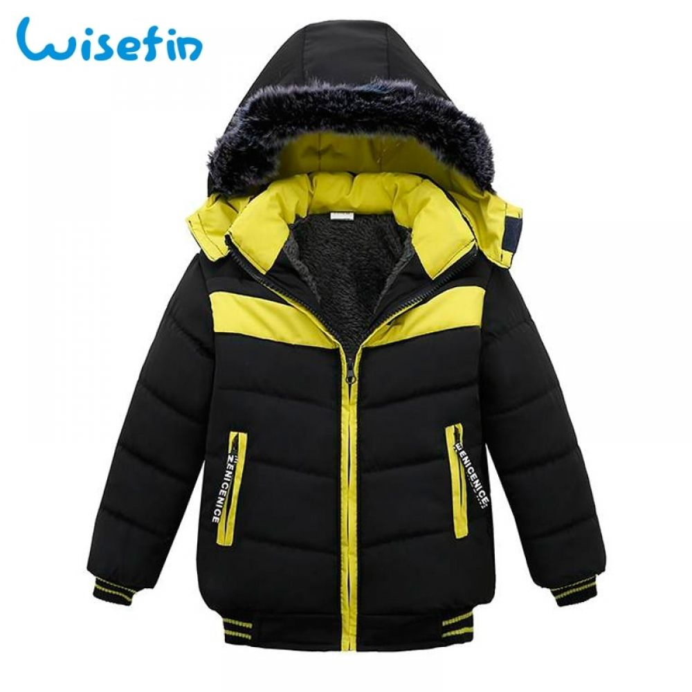 Wisefin Baby Boys Winter Jacket Coat Kids Warm Thick Down