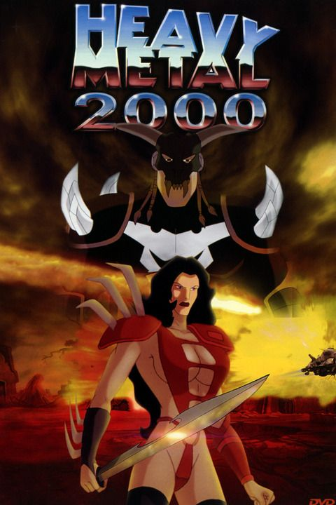 Julie From Heavy Metal 2000 It Is The Sequel Movie To Heavy Metal 1981 Heavy Metal Movie Heavy Metal Comic Heavy Metal